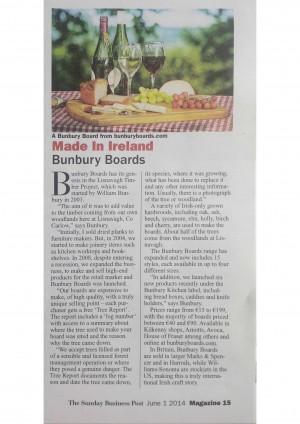 Made in Ireland - Bunbury Boards