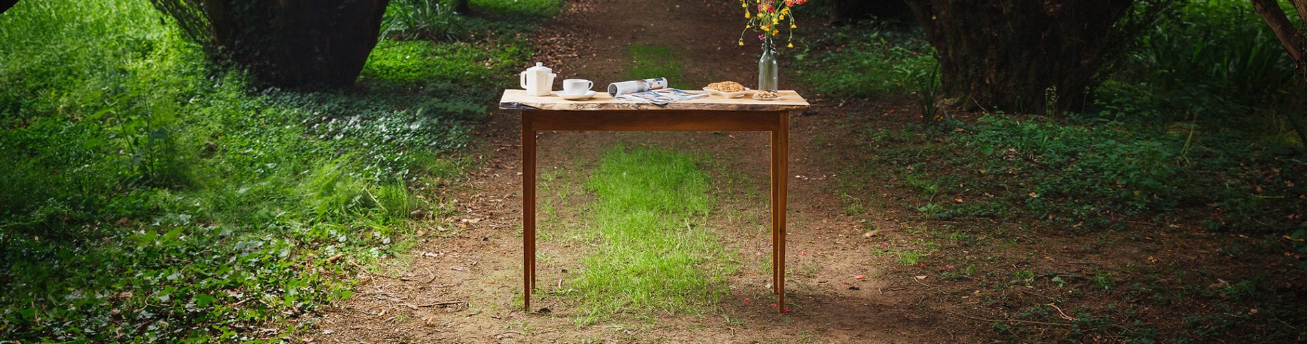 Waney Table Styled No Lamp