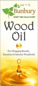OIL0250 - Bunbury Wood Oil (250ml)